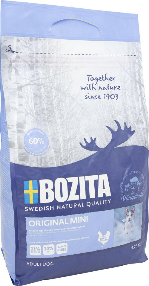 Сухой корм для собак Bozita Original Mini для мелких пород 4.75кг