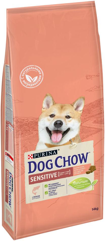 Сухой корм для собак Dog Chow Sensitive Лосось 14кг