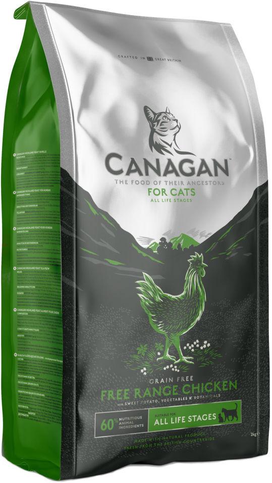 Сухой корм для кошек Canagan Free-Run Chicken Цыпленок 375г