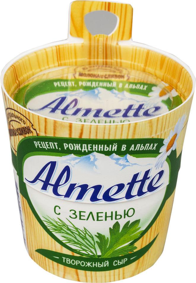 Отзывы о Сыре творожном Almette с зеленью 60% 150г