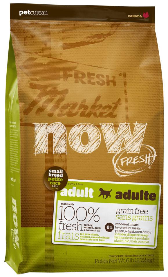 Отзывы о Сухом корме для собак Now Fresh Adult для мелких пород беззерновой с индейкой уткой и овощами 2.72кг
