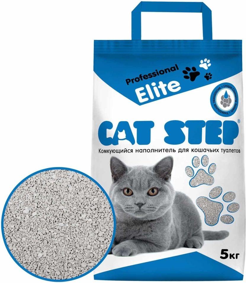 Наполнитель для кошачьего туалета Cat Step Professional Elite 5кг