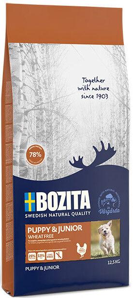Сухой корм для щенков Bozita Puppy&Junior Wheat Free 12,5кг