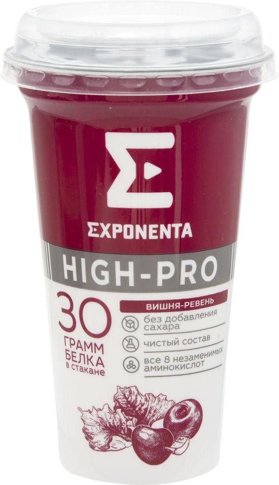 Отзывы о Напитке Exponenta High Pro кисломолочном вишня-ревень 250г