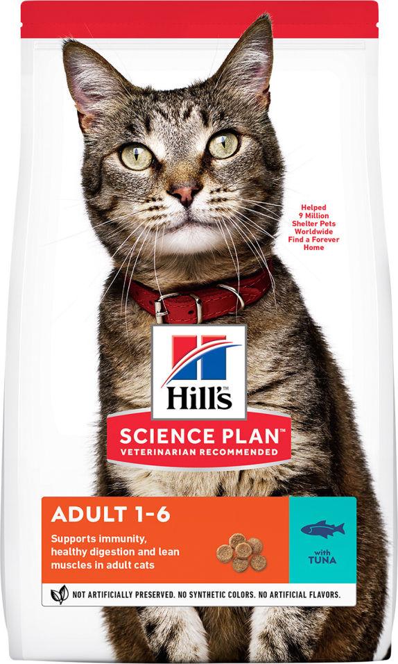 Сухой корм для кошек Hills Science Plan для профилактики МКБ Тунец 300г