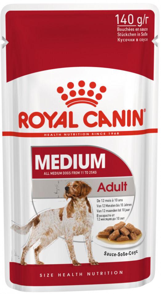 Корм для собак Royal Canin Adult Medium для средних пород 140г