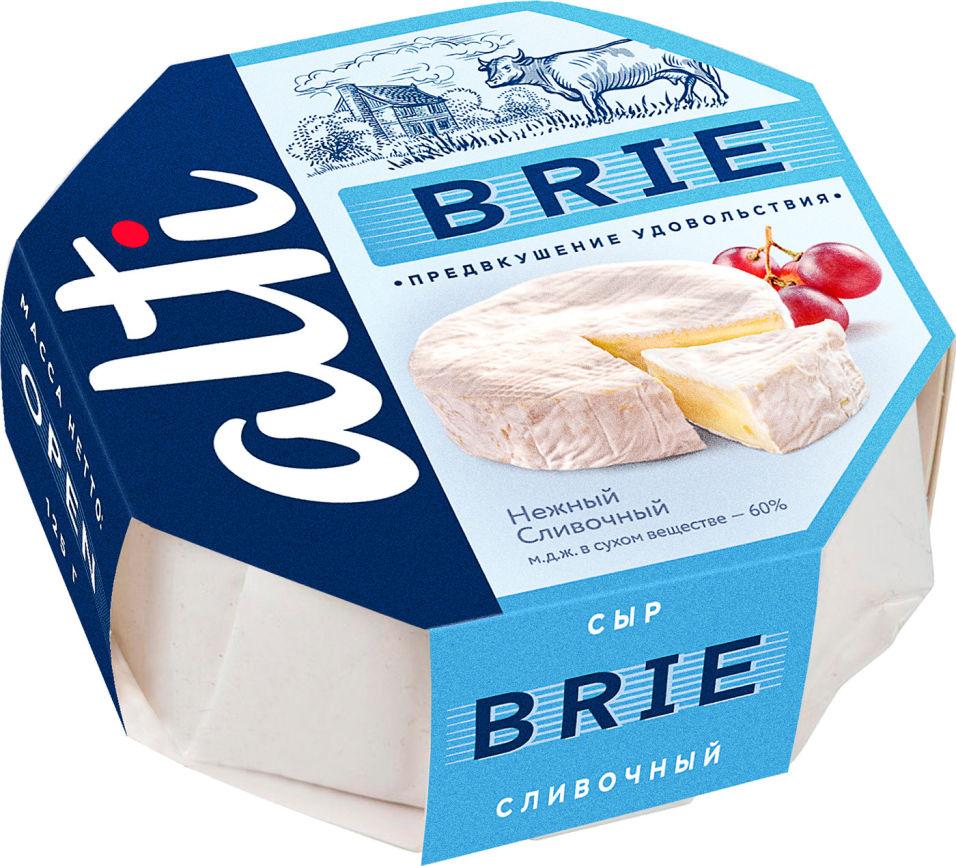 Отзывы о Сыре Alti Бри мягкий с белой плесенью 60% 125г