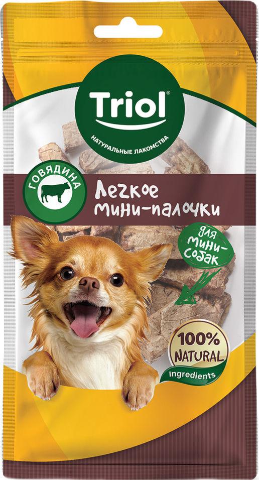 Лакомство для собак Triol Легкое говяжье Мини-палочки 30г