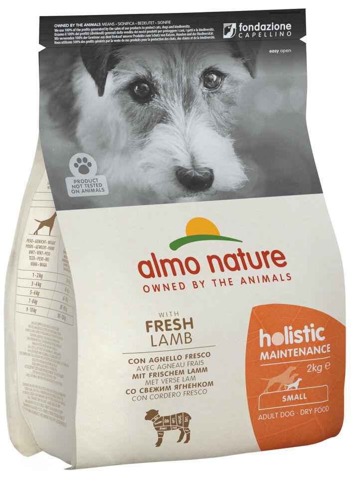 Сухой корм для собак Almo Nature для мелких пород с ягненком 2кг
