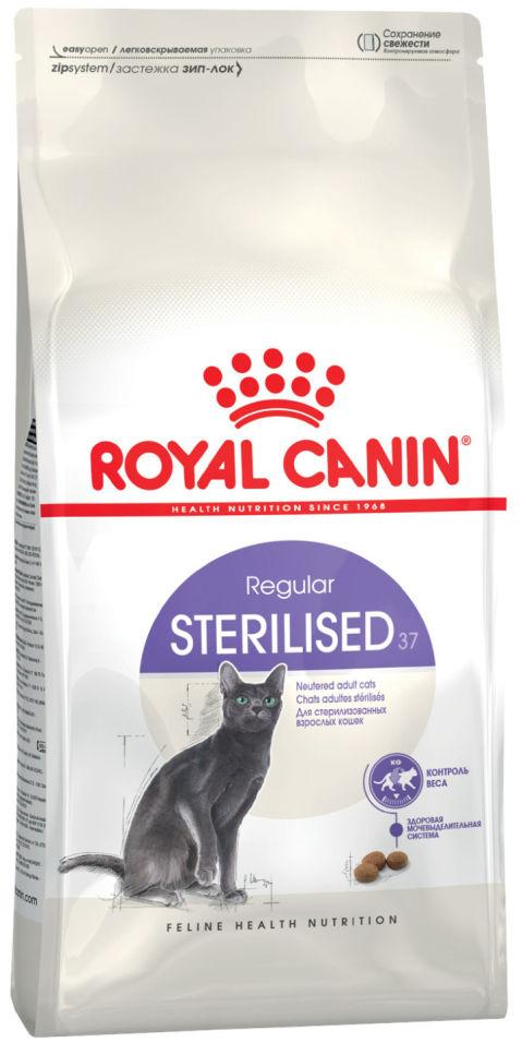 Отзывы о Сухом корме для кошек Royal Canin Sterilised 37 Птица 2кг
