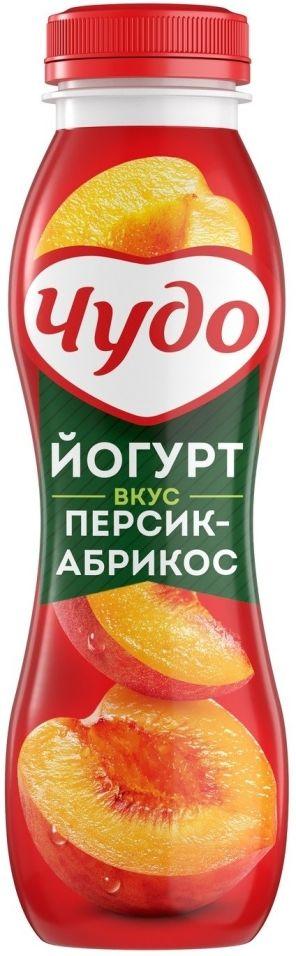 Отзывы о Йогурте питьевом Чудо Персик-Абрикос 2.4% 270г