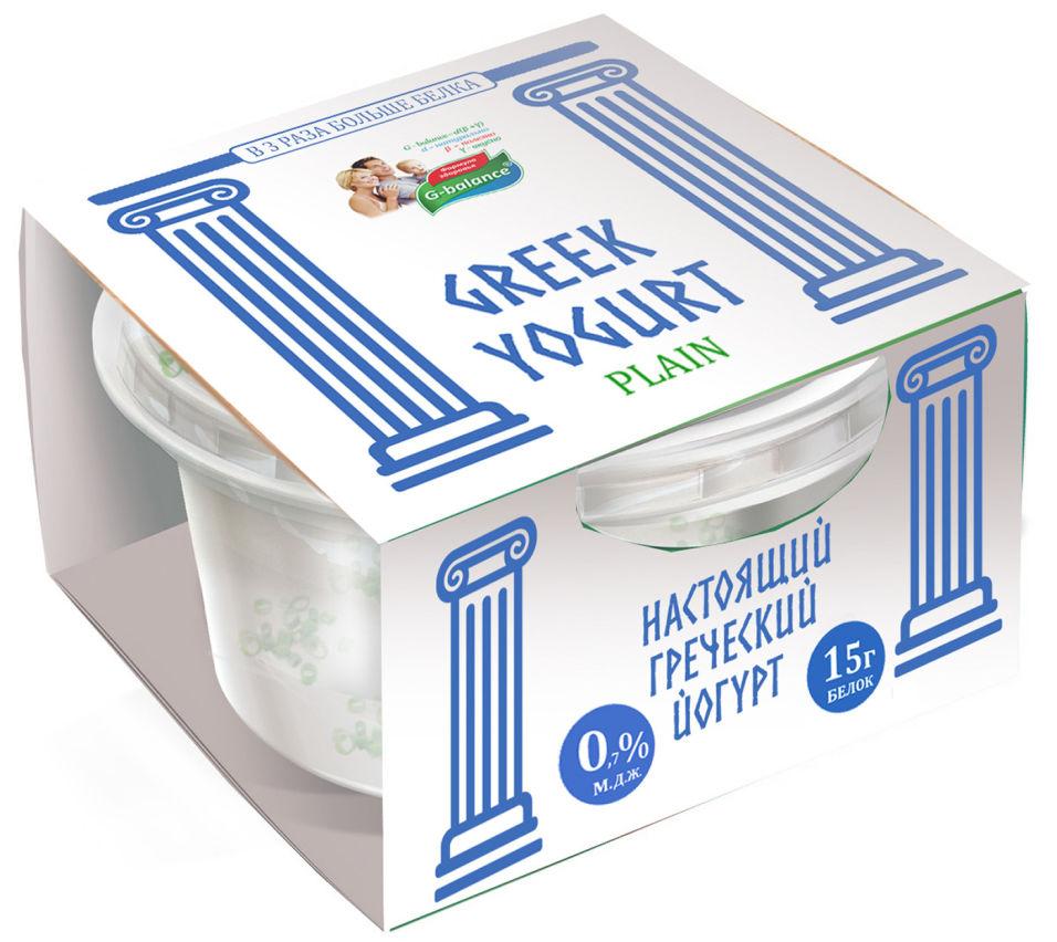 Отзывы о Йогурте G-balance Греческом 0.7% 170г