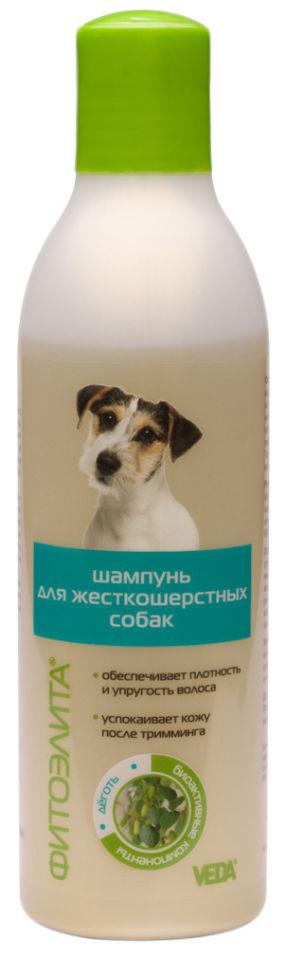 Отзывы о Шампуни для собак Veda Фитоэлита для жесткошерстных 220мл