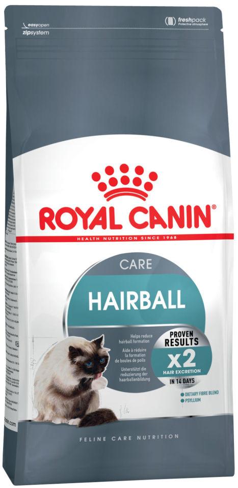 Отзывы о Сухом корме для кошек Royal Canin Hairball Care 34 Птица 2кг