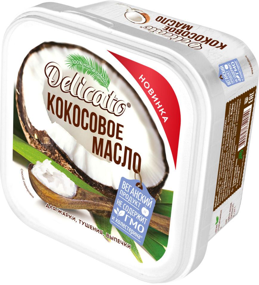 Отзывы о Масле кокосовом Delicato 450г