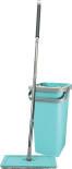 Набор для уборки Hausmann Elbrus швабра и ведро с механизмом отжима