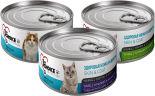 Набор корма для кошек 1st Choice Корм для кошек тунец с кальмаром и ананасом 85г + Корм для кошек тунец с тилапией и ананасом 85г +  Корм для кошек тунец с курицей и киви 85г