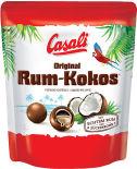 Конфеты Casali Ром-кокос со вкусом ананаса в молочном шоколаде 175г