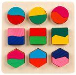 Игрушка Mapacha Вкладыши формы и цвета