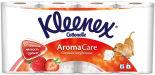 Туалетная бумага Kleenex Aroma Care Сочная Клубника 8 рулонов 3 слоя