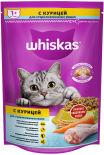 Сухой корм для кошек Whiskas с курицей и вкусными подушечками 350г