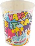 Стаканы бумажные Волшебная страна Happy Birthday 6шт