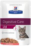 Влажный корм для кошек Hills i/d при расстройствах пищеварения с лососем 85г