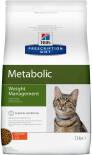 Сухой корм для кошек Hills Prescription Diet Metabolic для снижения и контроля веса с курицей 1.5кг