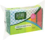 Губки для посуды Home Story Мега Макси 5шт