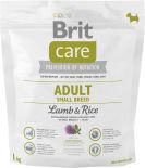 Сухой корм для собак Brit Care Adult S Lamb & Rice 1кг