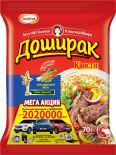 Лапша Доширак Квисти со вкусом говядины 70г