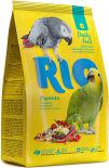 Корм для птиц Rio основной рацион для крупных попугаев 1кг