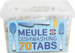 Таблетки для посудомоечных машин Meule Active 70шт