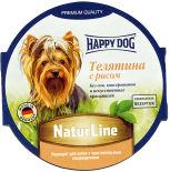Корм для собак Happy Dog Теленок с рисом 85г