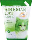 Наполнитель для кошачьего туалета Сибирская кошка Элита ЭКО силикагель 8л