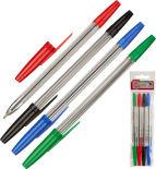 Ручки шариковые набор Attache Economy Elementary 4 цвета