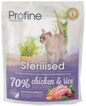 Сухой корм для кошек Profine Sterilised Курица 300г