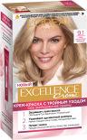 Крем-краска для волос Loreal Paris Excellence creme 9.1 Очень светло-русый пепельный