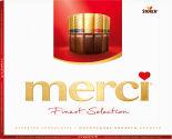 Набор шоколадных конфет Merci Ассорти 8 видов шоколада 250г