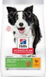 Сухой корм для пожилых собак Hills Science Plan Youthful Vitality Mature Adult 7+ Medium для средних пород с курицей 800г
