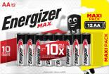 Батарейки Energizer Max + Power Seal AA 12шт