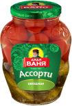 Ассорти Дядя Ваня Огурцы и томаты 1.8кг