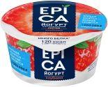 Йогурт Epica с клубникой 4.8% 130г