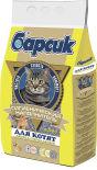 Наполнитель для кошачьего туалета Барсик для котят впитывающий 4.54л