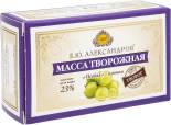 Масса творожная Б.Ю.Александров Особая с изюмом 23% 100г