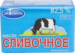 Масло сливочное Экомилк 82.5% 100г