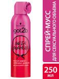 Стайлинг-мусс для волос Got2B Мегамания 250мл
