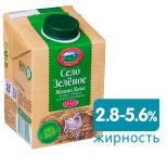 Молоко Село Зеленое Козье ультрапастеризованное 2.8-5.6% 487мл