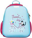 Ранец №1 School Basic Кот на велосипеде