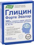 БАД Эвалар Глицин Форте 20 таблеток